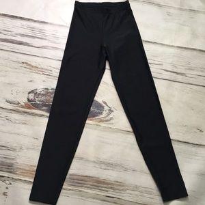 American Apparel Black Leggings Medium